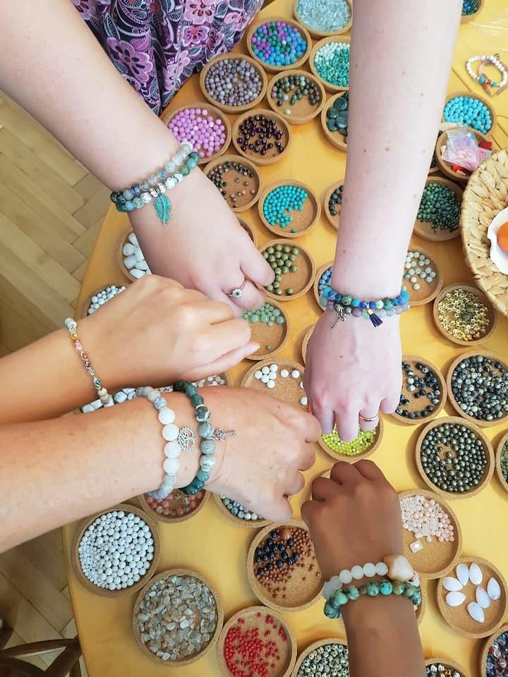 Unique bracelets by unique guests :-)