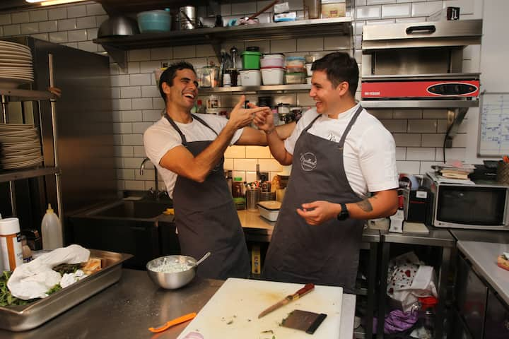 The Chefs; Deniz and Oktay
