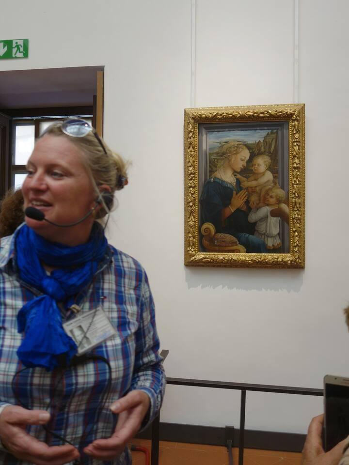 Kunstführung in den Uffizien