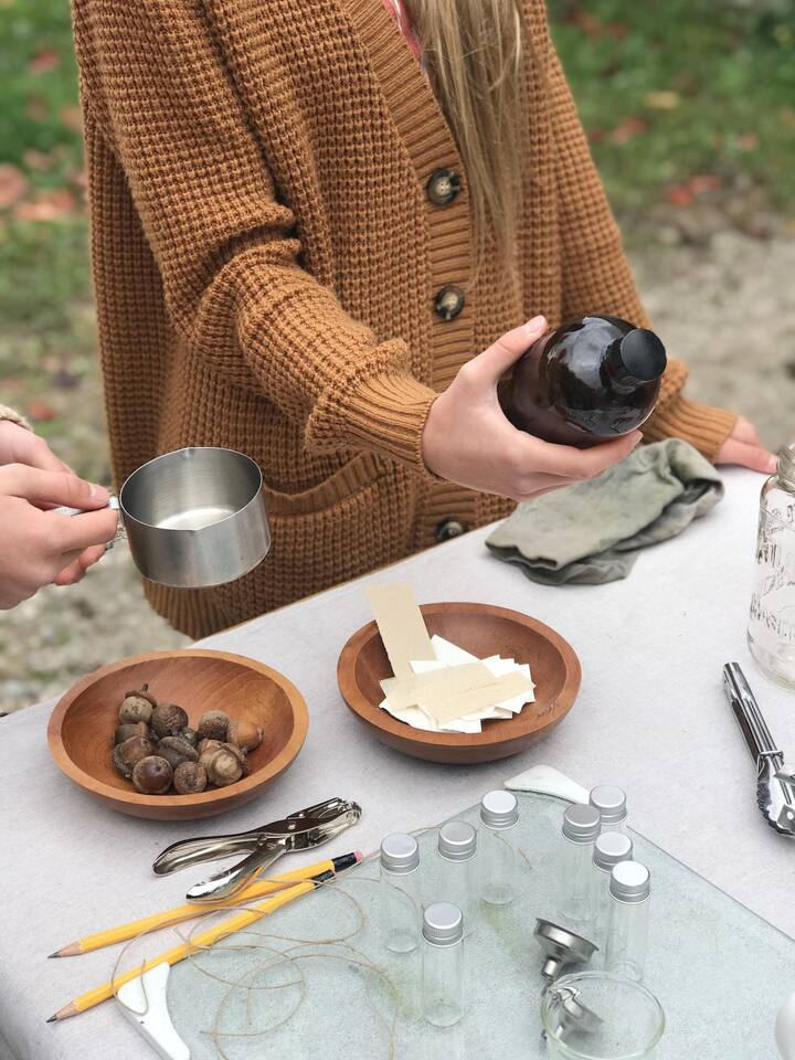 learn how to craft ink from plants