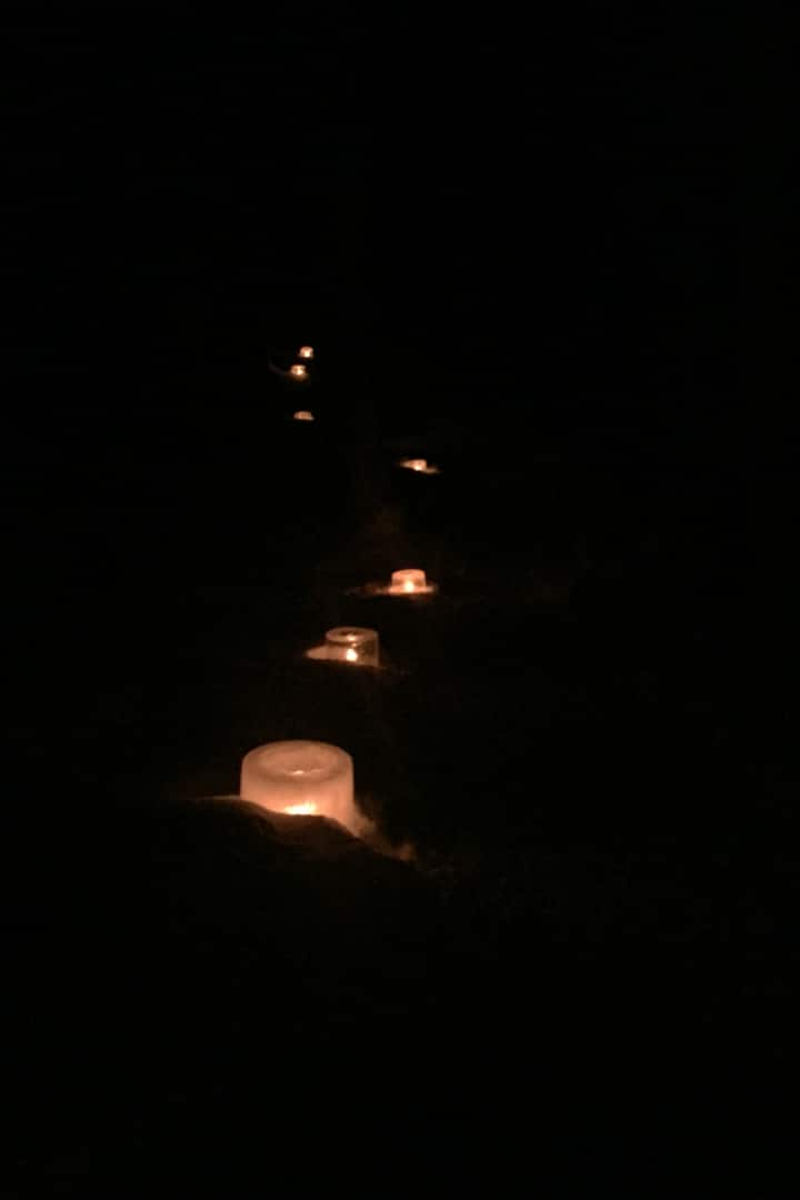 Following the trail of candlelight