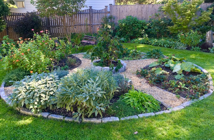 Inspiration in a garden setting