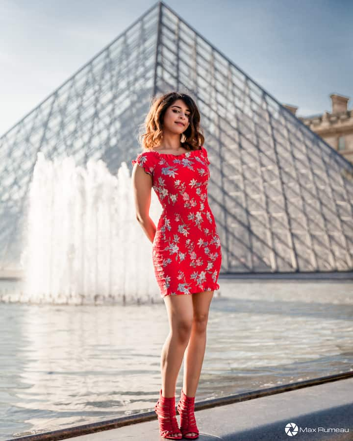 Photoshoot at the Louvre
