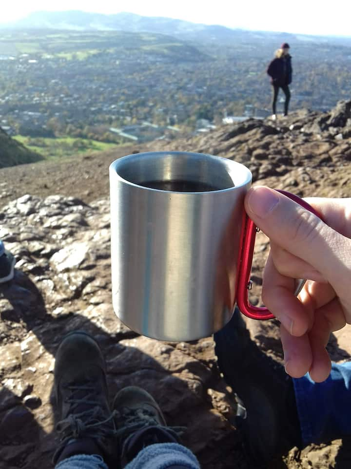 A cup with a view
