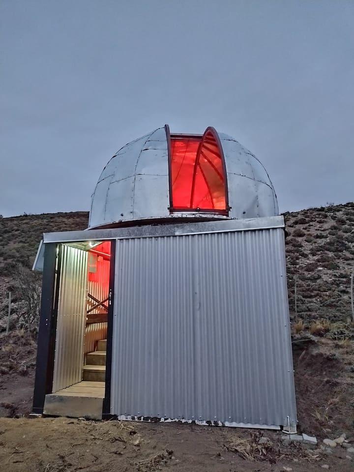 Mi observatorio astronómico.
