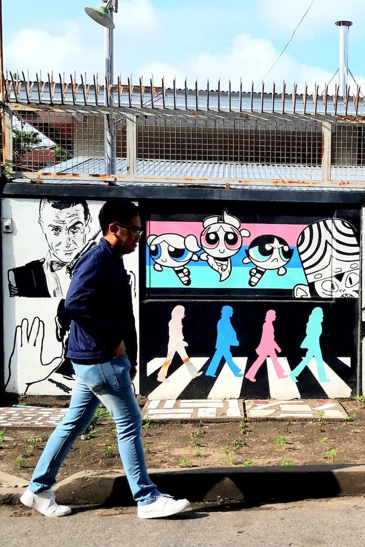 Discover street art stories
