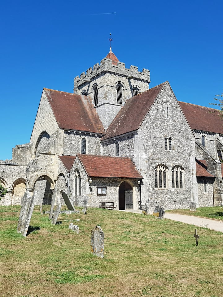 Norman church dating back to 1117