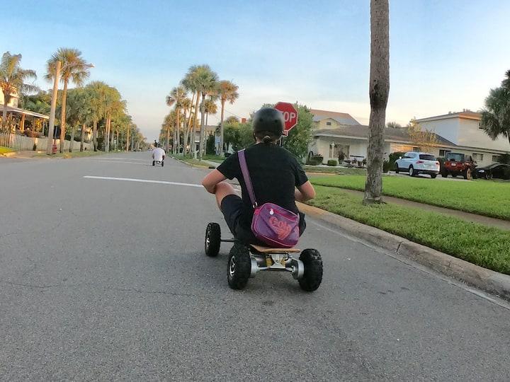 Mario Kart Mode is always fun!