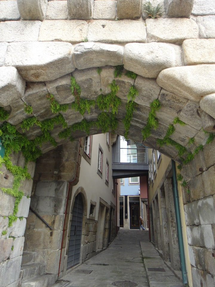 Postigo carvão- Porta muralha medieval