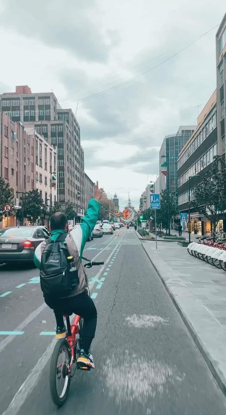 Bici Tour Zócalo CDMX