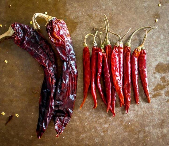 Guajillo and Arbol Chili's
