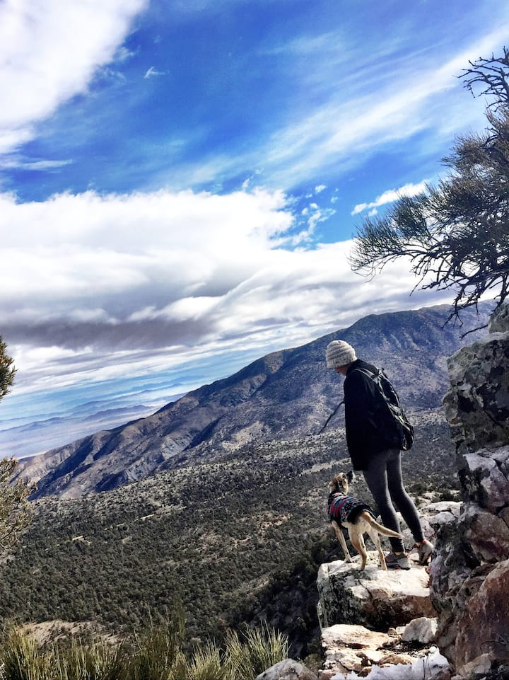Amazing viewpoints on this hike!