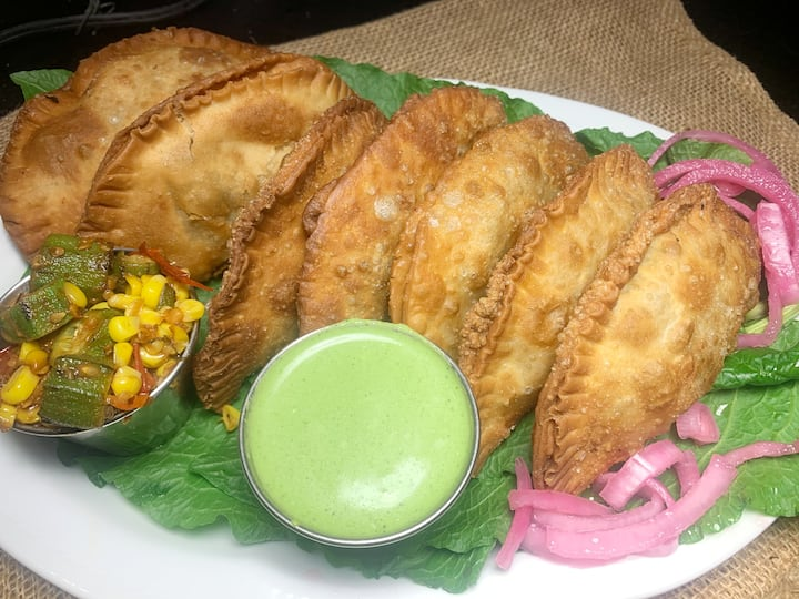 Empanadas are always a great appetizer!