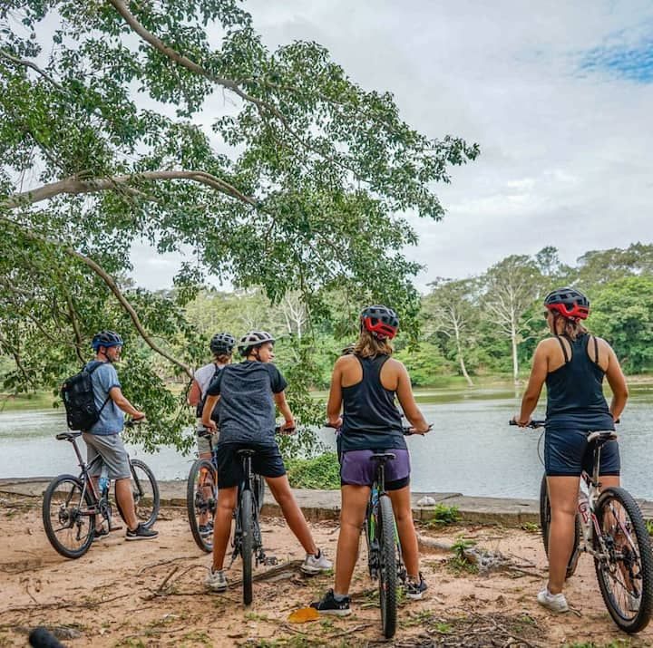 Cycle the hidden gem of Angkor temple