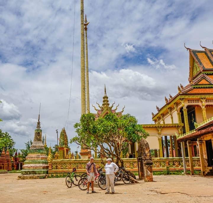Visit the local remote temple