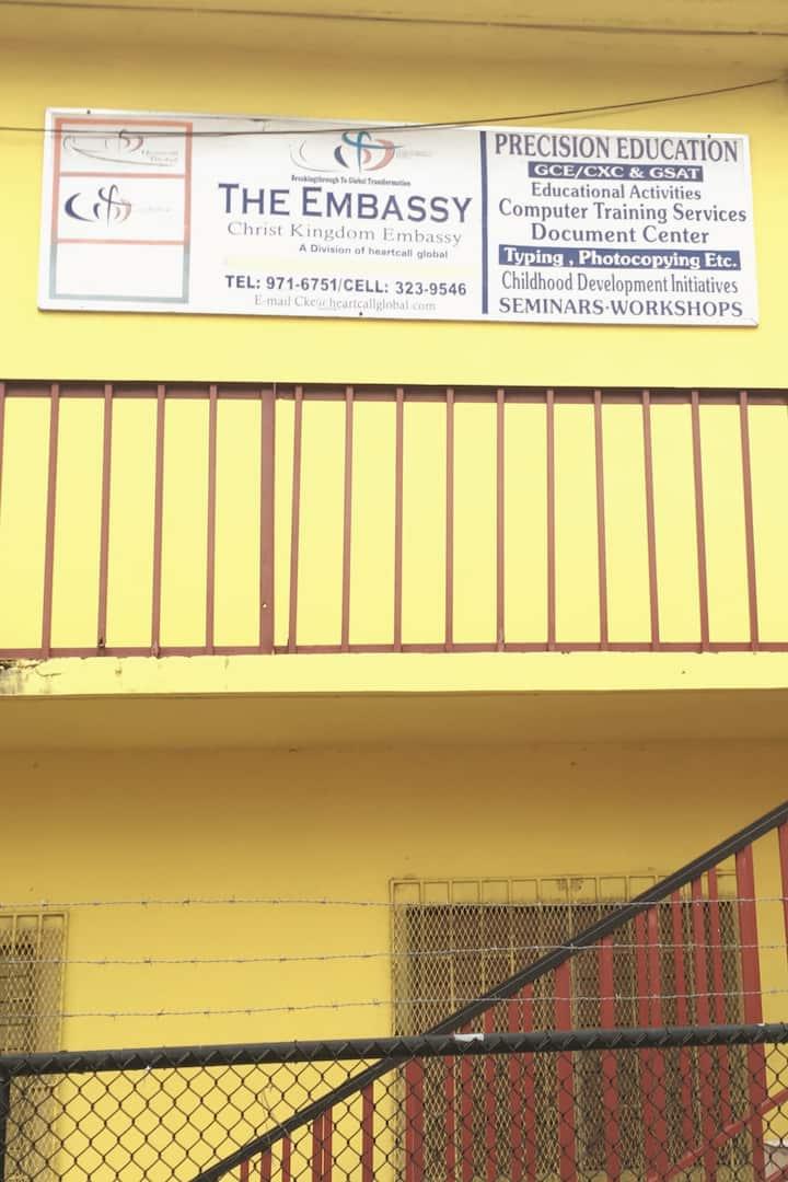 Church iLocation in Jamaica