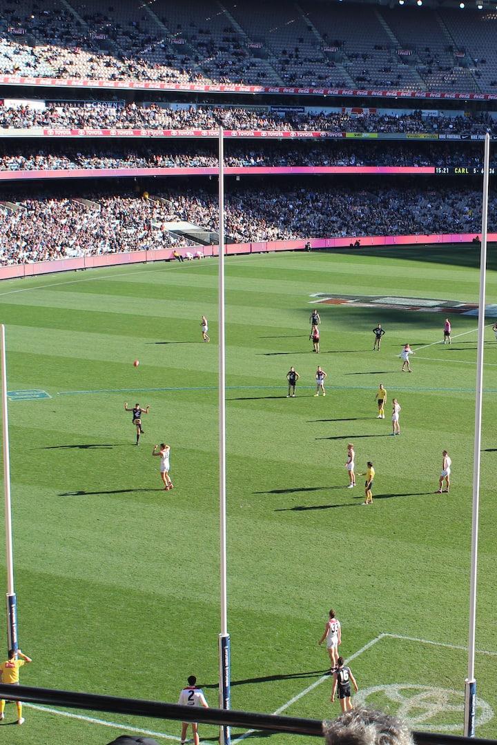 Carlton vs. St. Kilda at the MCG