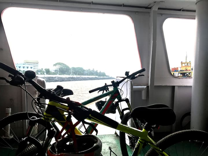 Morning Ferry Ride