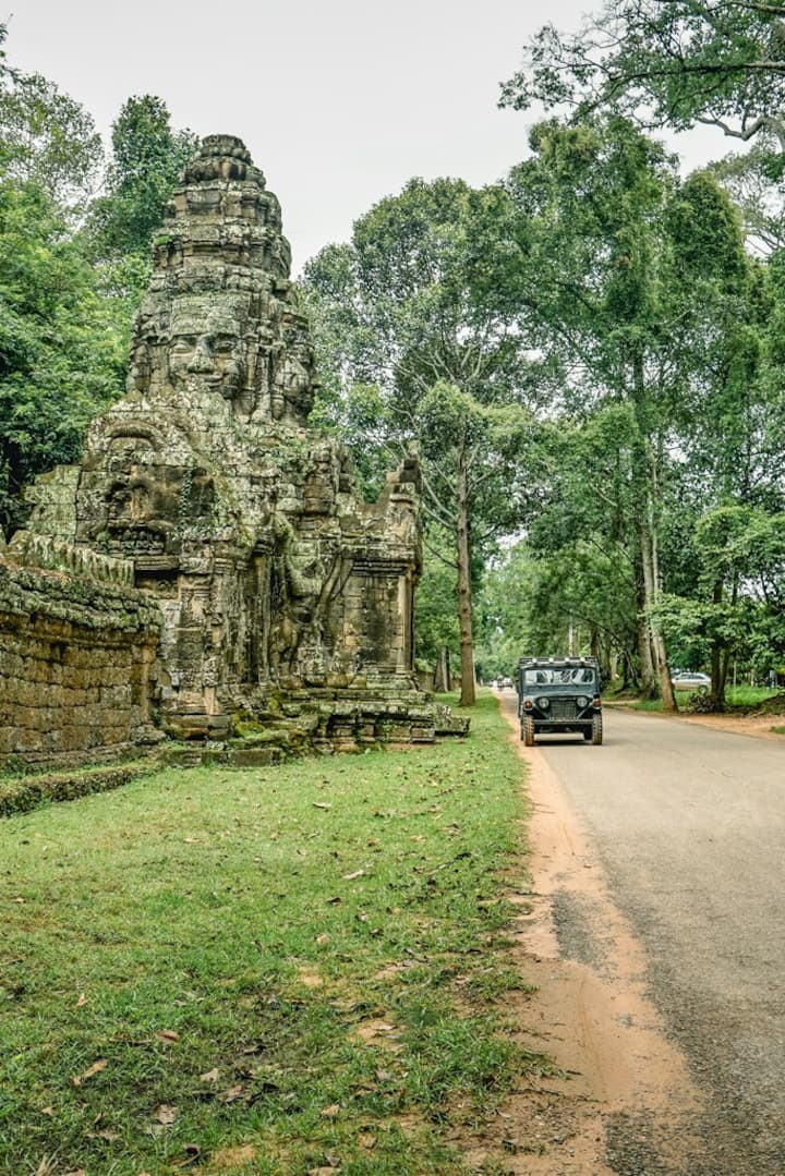 Hidden attractions at Angkor park