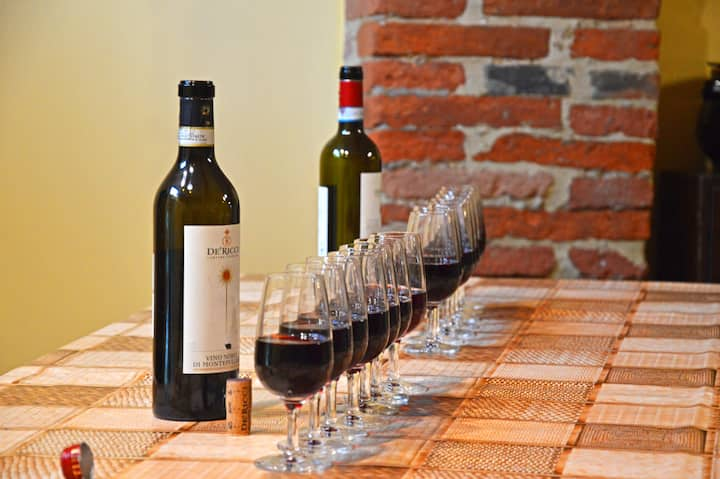 Tasting of selected wines