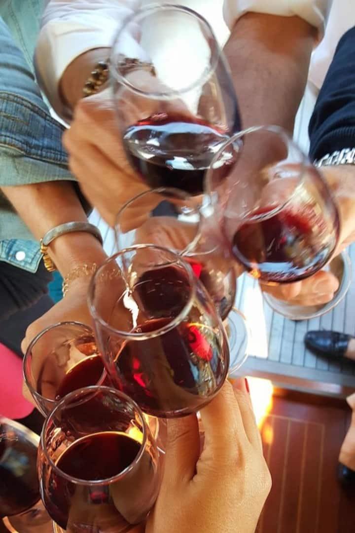 Celebrating with Port Wine
