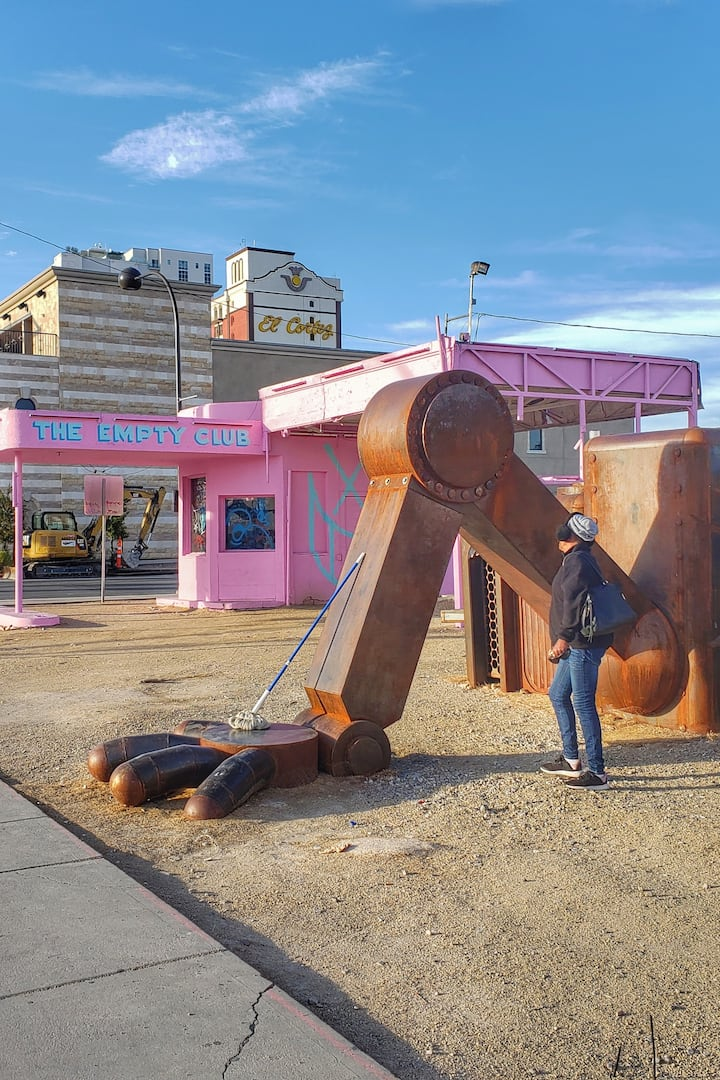 Art work floods the downtown area!