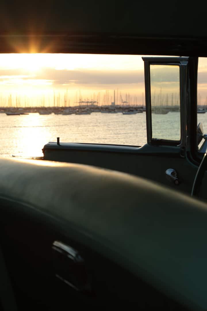 St. Kilda sunset.