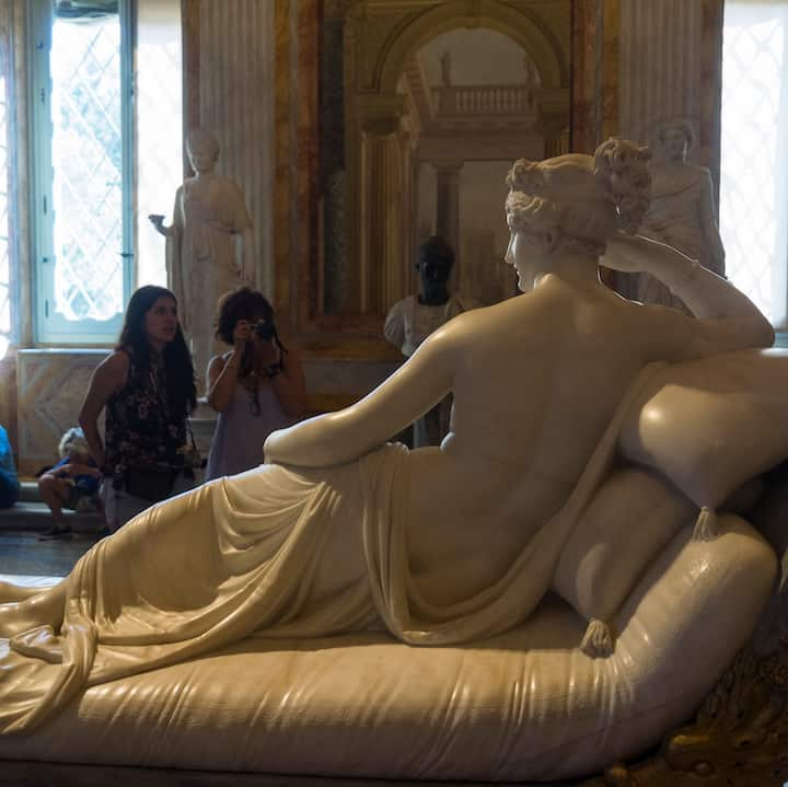 Paolina Bonaparte as Venus