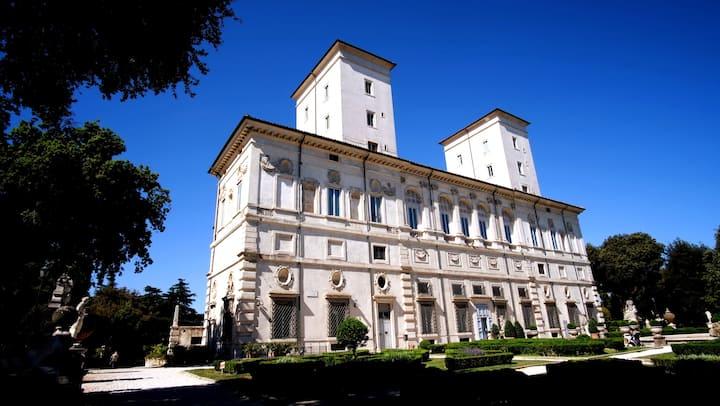The beautiful villa of the Cardinal