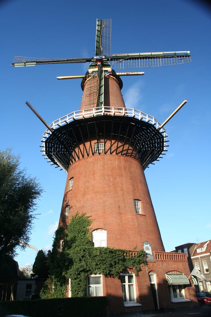 Wonderful windmill close to the centre