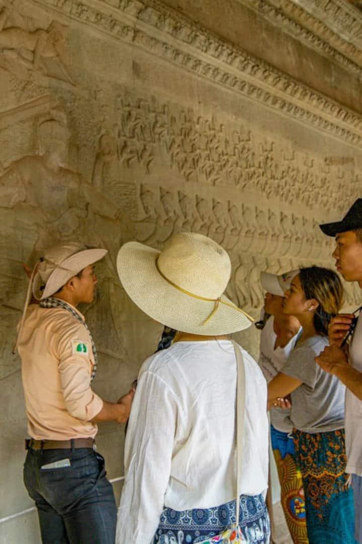 Angkor Wat history telling