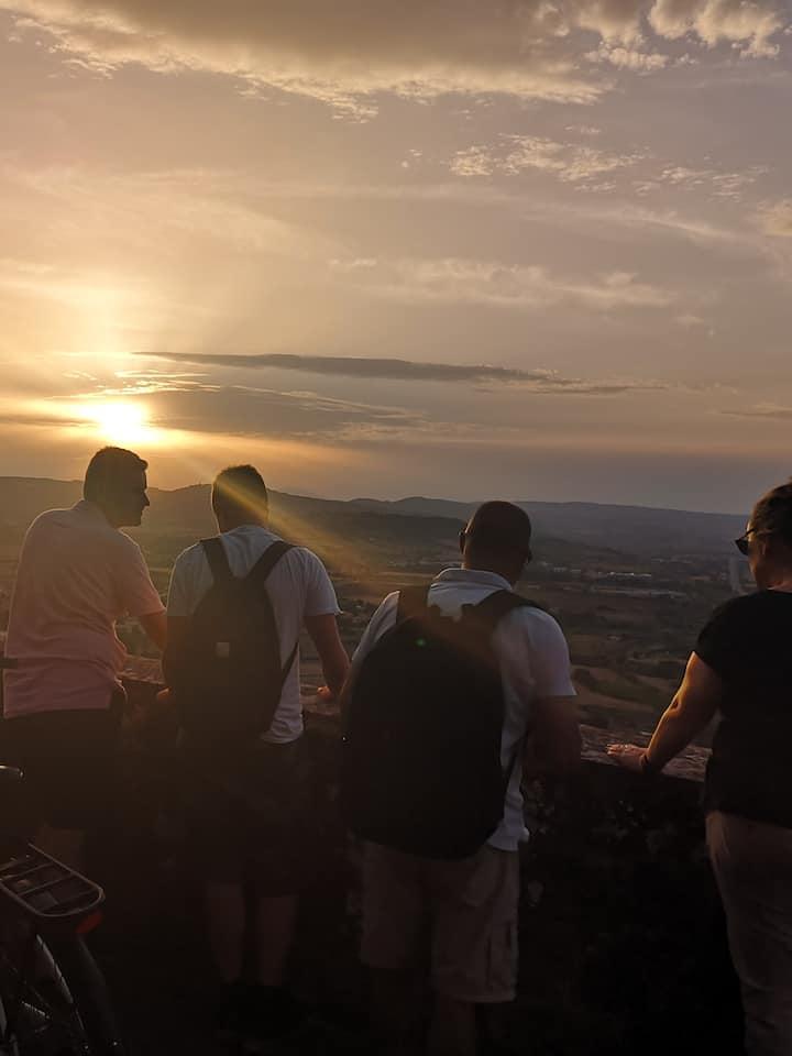 Orvieto' s sunset