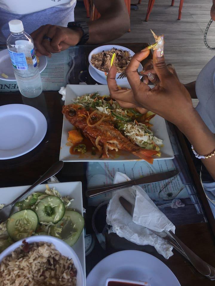 Kingston foodie.