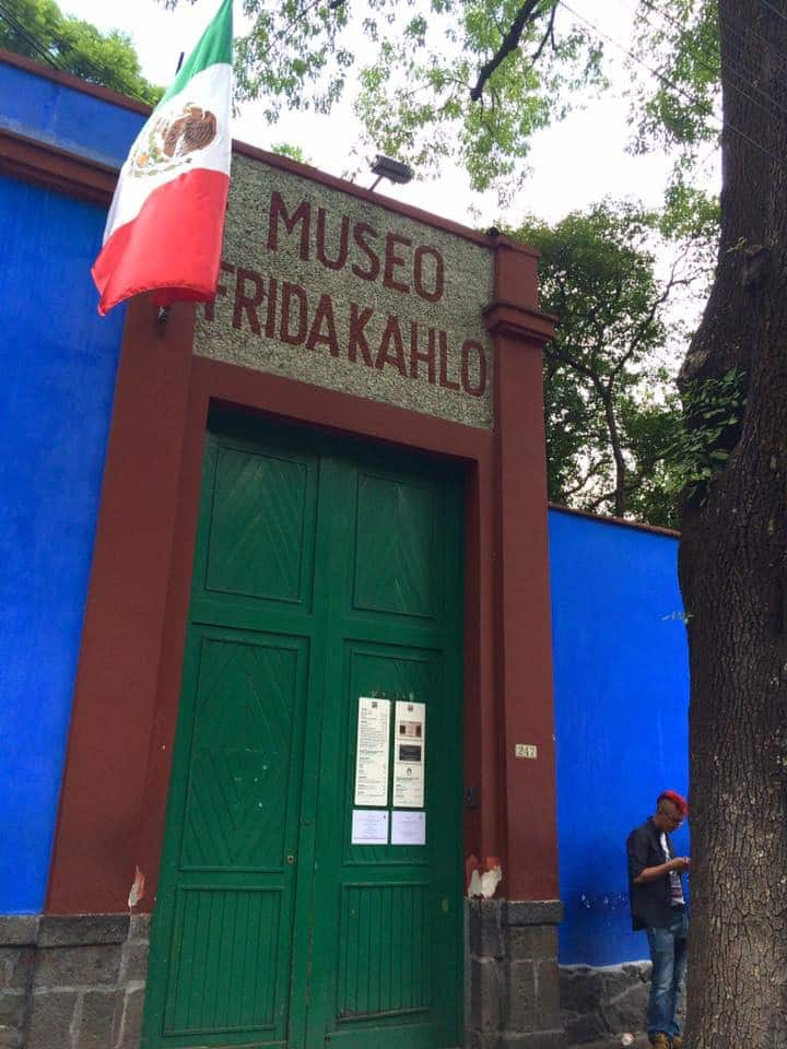 Entrada principal de Museo Casa Azul