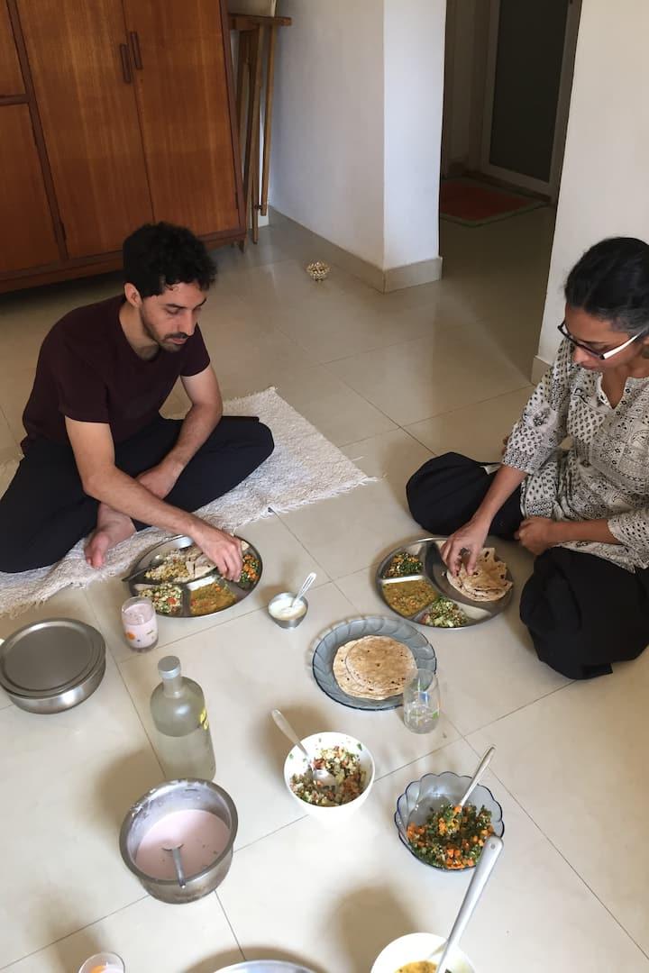 Satvik Meal the Indian Way...