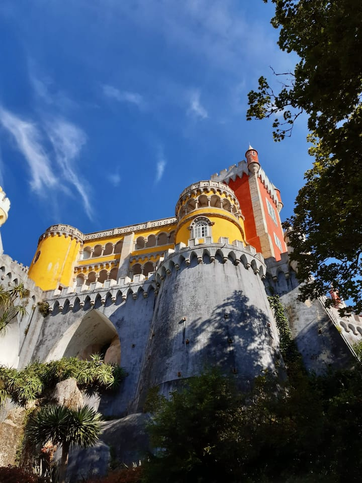 The Pena Palace from up close!
