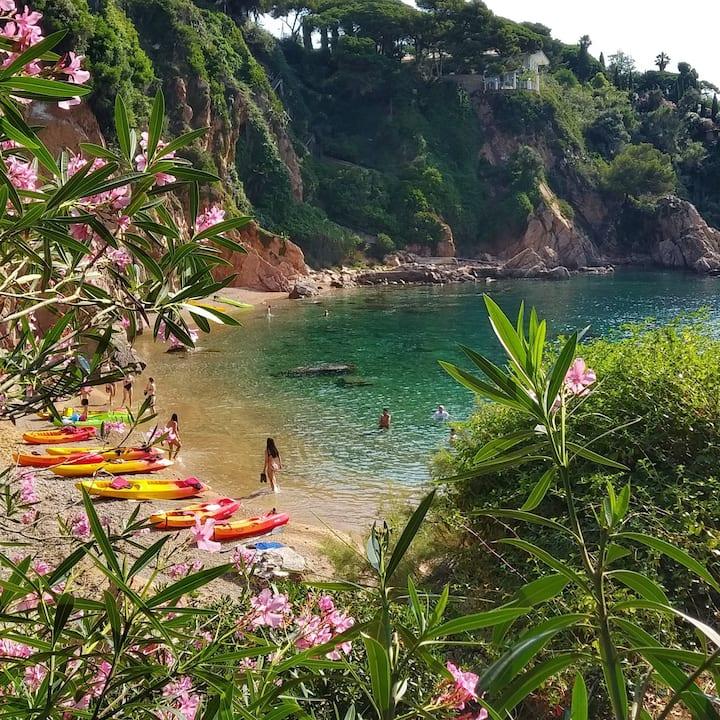 Secret beaches