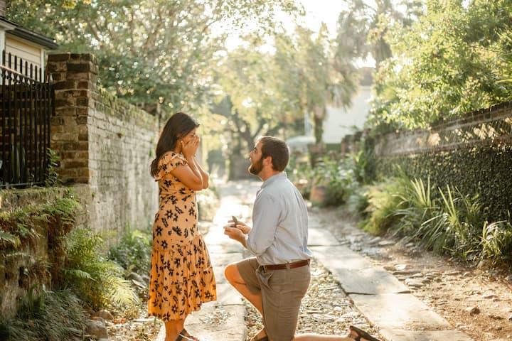 A sweet proposal!