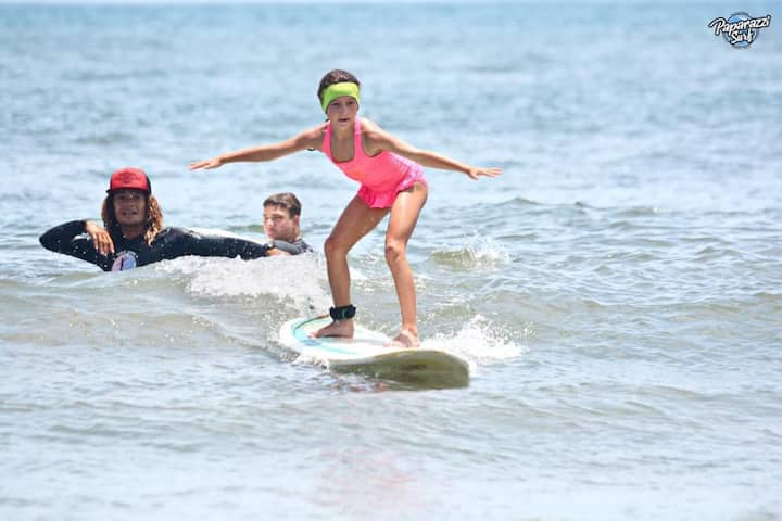 No one is too young to surf