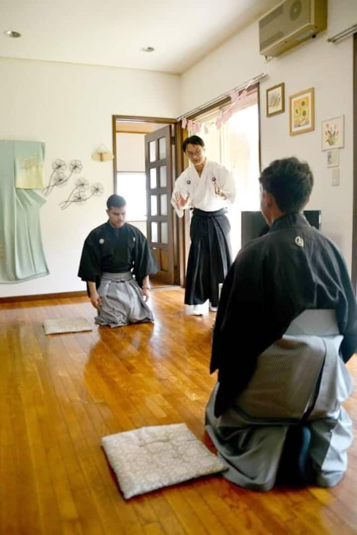 Learn the manners of Samurai.