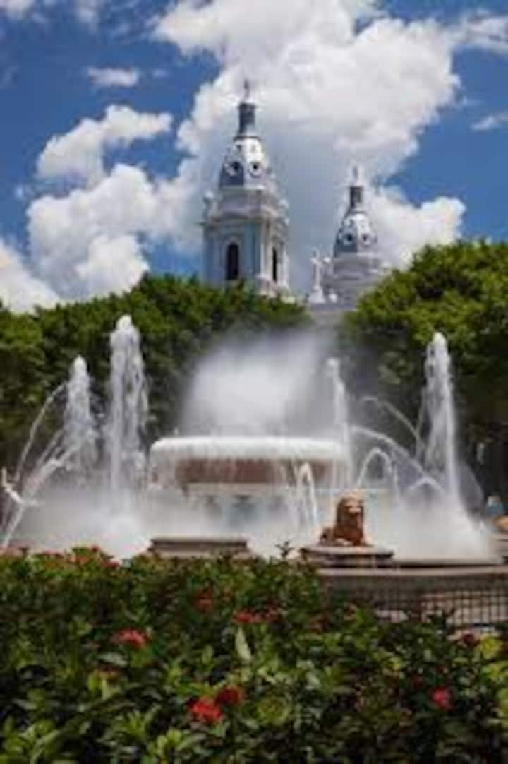 Visit Ponce Plaza & Firehouse Museum