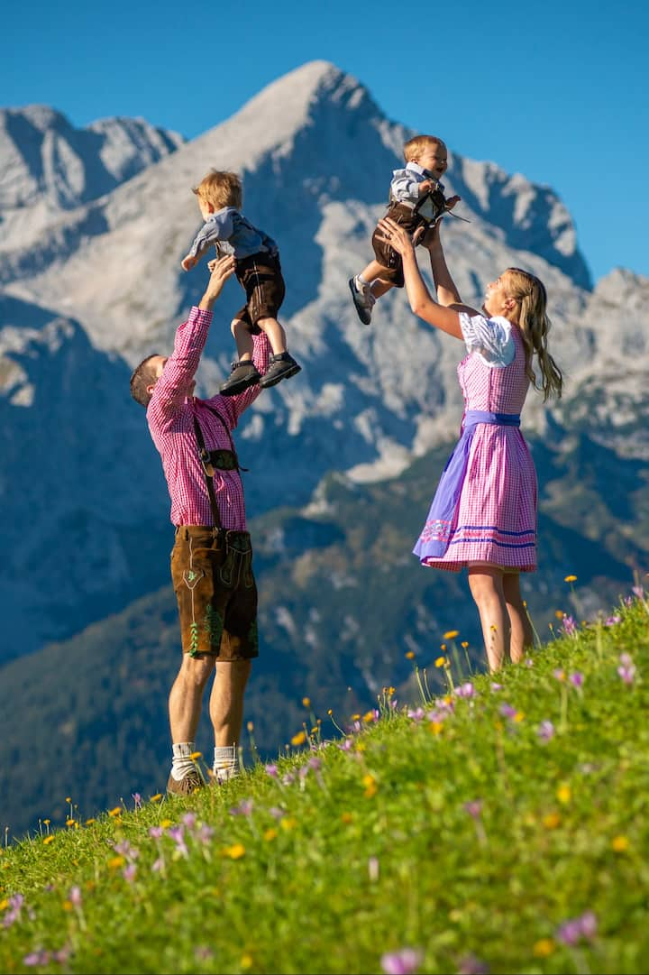Fun for the family on the mountain