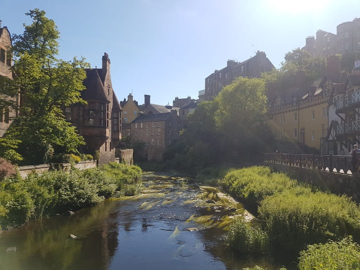 Water of Leith; Edinburgh's only River