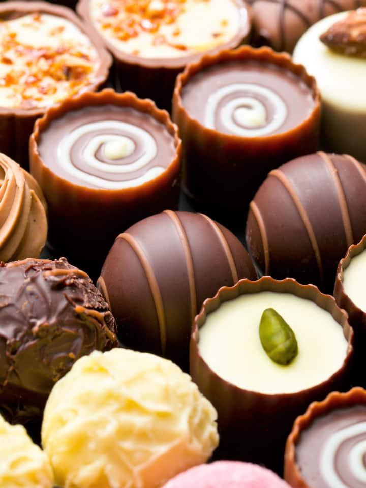 Try exquisite chocolates