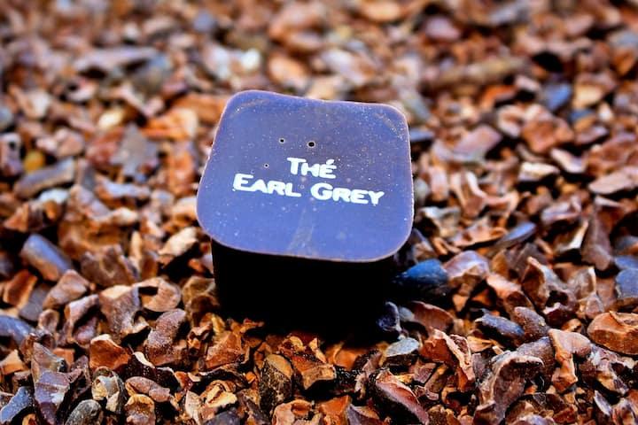 Tasty Earl Grey chocolate