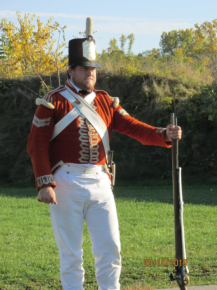 War of 1812 soldier