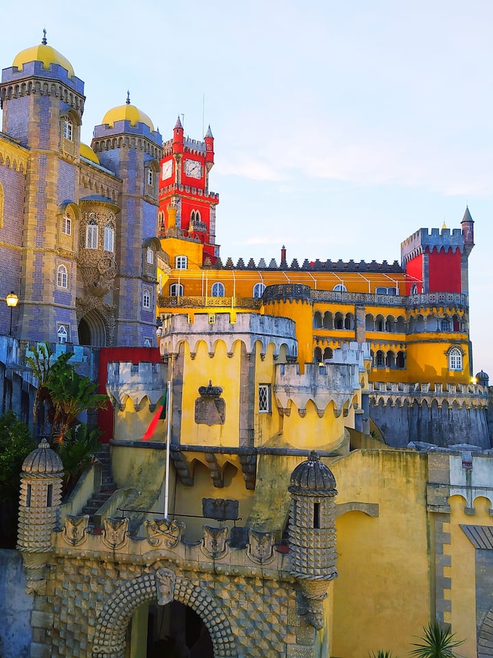 Pena Palace late afternoon
