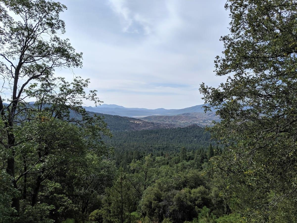 Landscape image in San Bernardino National Forest