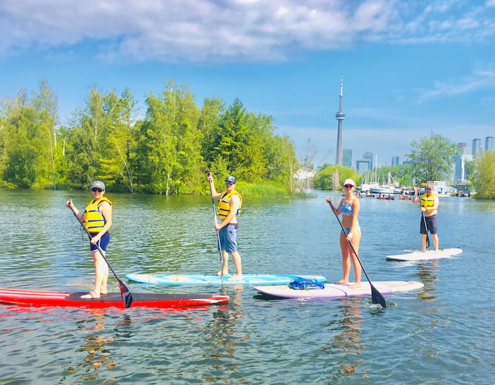 group sup paddle adventures toronto