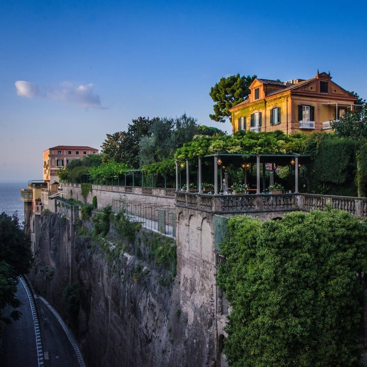 The Hotel Vittoria in Sorrento